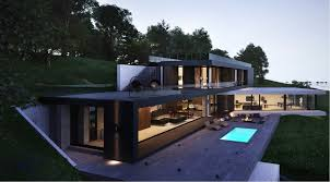 House Plans With Outdoor Living Space Modern Home Exteriors With Stunning Outdoor Spaces