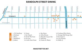 Taste Of Chicago Map Chicago Best Restaurants Cta L Stop Thrillist Chicago Map Of