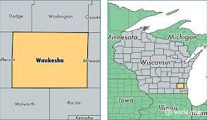 wisconsin map usa waukesha county wisconsin map of waukesha county wi where is