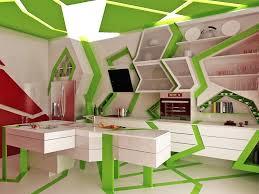 unique kitchen ideas fantastic green white unique contemporary kitchen decor ideas