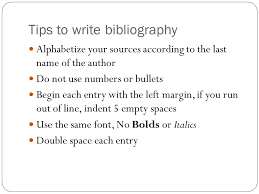 a bibliography is a list of all the resources cited in a report or