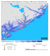 Map Of Charleston South Carolina Lights Out Storm Surge Blackouts And How Clean Energy Can Help