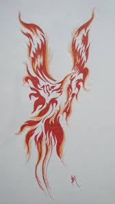 tribal fire flame phoenix tattoo design 2017 tattoos ideas