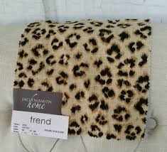 upholstery cheetah brown fabric by the yard home decor drapery
