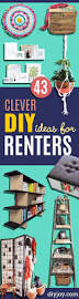 43 clever diy ideas for renters diy joy