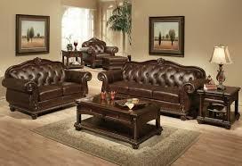 leather livingroom set leather sofa set designs