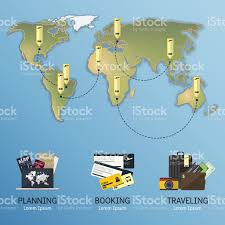World Map Flat by Maps Update 580387 Map For Travel Planning U2013 Longterm Travel