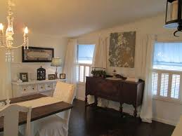 Decorating Ideas For A Mobile Home Shannons Shabby Chic Double Wide Makeover Dining Room Ideas For A