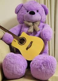 big teddy 78 purple teddy 6 5 ft stuffed