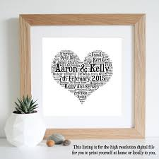 1st wedding anniversary gift 27 fancy ideas for wedding anniversary gifts navokal