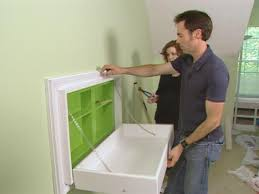 Wall Changing Tables For Babies How To Build A Fold Away Changing Table How Tos Diy