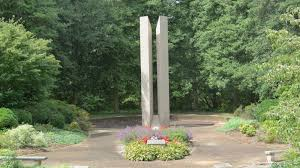 cheatham memorial garden and monument at new concord presbyterian