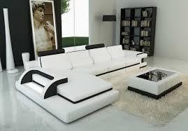 Black Sofa Sectional Sofa Graceful Modern Leather Sectional Sofas Vg 917 B Sofa
