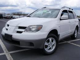 white mitsubishi outlander cheapusedcars4sale com offers used car for sale 2003 mitsubishi