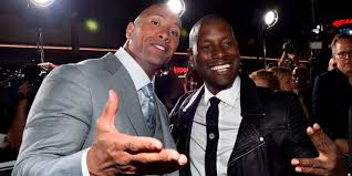 tyrese feud with the rock is after a to