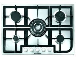 plaque cuisine gaz plaque a gaz pas cher bosch pop6b6b10 table de cuisson gaz 4 foyers