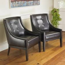 Leather Accent Chair Park Avenue Bonded Leather 2pk Accent Chairs Mission Hills Furniture
