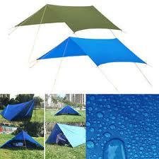 Camping Tent Awning Tarp Shelter Sunshade Awning Canopy Beach Camping Tent Cover Rain