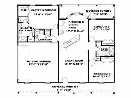 1500 sq ft house plans ranch style house plan 4 beds 200 baths
