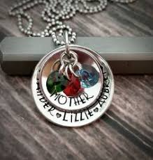 Mothers Necklace With Children S Names Personalized Kids Name Necklace With Angel Charm Mothers Necklace