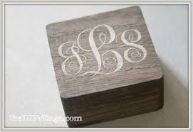 monogramed jewelry monogrammed jewelry box last minute gift idea the diy