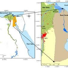 location canap figure 1 location of the suez canal region scientific diagram