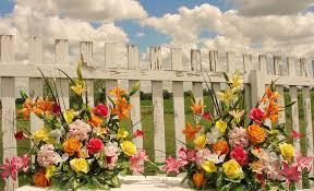 Church Flower Arrangements Summer Flower Arrangements Church Silk Wedding Altar Vases