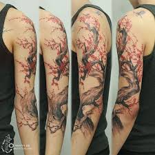 40 beautiful cherry blossom tattoos awesome sleeve tattoos