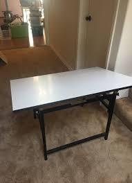 fold away drawing table space saver fold away drawing table home garden in tukwila wa