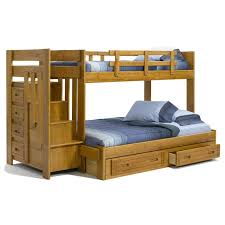 twin over full bunk beds wayfair summit staircase twin over full