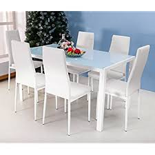 Modern Furniture Dining Room Furniture Of America Rivendale 7 Modern Dining