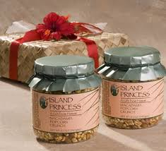 Popcorn Baskets Island Princess Gift Box Of Hawaii U0027s Favorite Gourmet Caramel
