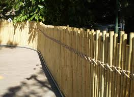 natural bamboo fence panels peiranos fences biggest bamboo