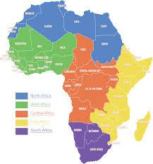 Ghana Map Africa by Shop By African Regional Map U2013 Zawadee Com Usa