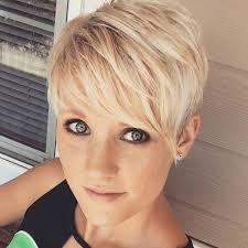 Kurzhaar Trend 2017 charmante kurzhaarfrisuren für frauen mit blonden haaren