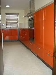 orange kitchens high gloss orange kitchen