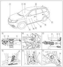 nissan rogue service manual component parts system description