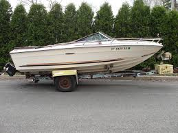 sea ray srv195 with 260 hp mercruiser and trailer runs well no