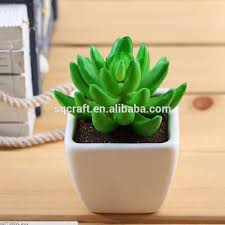 Home Decor Artificial Plants Artificial Grass Potted Pot Fake Plant Bush Cactus 13cm 5in Home