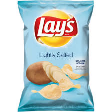 great value wavy lightly salted potato chips 8 oz hd deals com