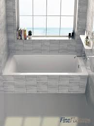 fixtures alcove 32 x 66 bathtub reviews wayfair