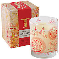thymes candles neroli blossom candle