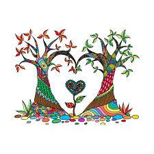 the colourful tree design t shirt t shirt teepublic