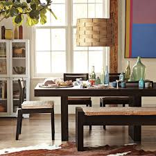 west elm dining table with bench 3892