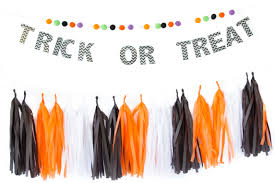 halloween flag banner tassel garlands the banner shoppe online store powered by storenvy