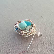 mothers day birthstone jewelry yang s jewelry diy bird s nest birthstone pendant jewelry
