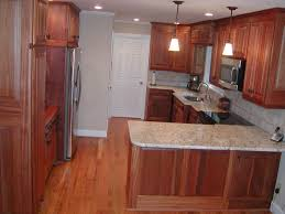 Mahogany Kitchen Cabinet Doors Grand White Marble Top Small Island Also Unvarnished Mahogany