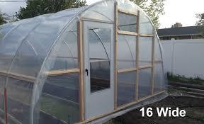 8 X 12 Greenhouse Kits 12 Wide Hoop House Kit Roberts Ranch U0026 Gardens
