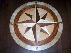wood compass wall hardwood floor medallion inlays and compass roses a house