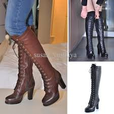 womens leather boots 2012 genuine leather boots boots high heeled the